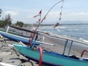 Suasana di Pantai Cucukan, Kecamatan Blahbatuh, Kabupaten Gianyar, Selasa (3/11/2020) - foto: Catur/Koranjuri.com