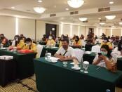 """Badan Nasional Penanggulangan Terorisme (BNPT) menggandeng Forum Koordinasi Pencegahan Terorisme (FKPT) Provinsi Bali menggelar acara bertajuk 'Ngobrol Pintar Cara Orang Indonesia"""" atau yang disingkat 'Ngopi Coi', Selasa (3/11/2020) di Kuta Bali - foto: Istimewa"""