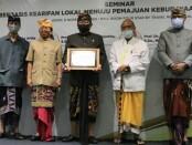 Wakil Gubernur Bali Tjokorda Oka Artha Ardhana Sukawati (Cok Ace) membuka Seminar Kesenian Berbasis Kearifan Lokal Menuju Pemajuan Kebudayaan Bali di Era New Normal, Jumat, 6 November 2020 - foto: Istimewa