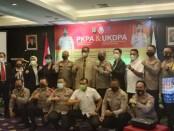 Wakapolda saat membuka Pendidikan Khusus Profesi Advokat (PKPA) Angkatan III tahun 2020 di Hotel Diradja, Jalan Kapten Piere Tendean No 38, Jakarta, Senin 9 November 2020 - foto: Bob/Koranjuri.com