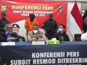 Polisi menangkap laki-laki berinisial AAB (20) di Mojokerto, Jawa Timur atas tuduhan membawa lari gadis dibawah umur - foto: Bob/Koranjuri.com