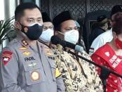 Polda Metro Jaya mendapat kunjungan dari tokoh masyarakat Jakarta, Senin, 22 November 2020 - foto: Bob/Koranjuri.com