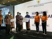 Sosialisasi penyaluran KUR yang digelar Kementerian Koodinator Perekonomian RI di The Westin Resort Nusa Dua, Sabtu (28/11/2020) - foto: Istimewa