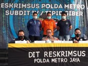 Subdit IV Tipid Siber Ditreskrimsus Polda Metro Jaya menangkap pelaku pengunggah video ajakan berjihad di medsos. Pelaku ditangkap di Rawa Badung, Jatinegara, Cakung Jakarta Timur, Kamis (3/11/2020) - foto: Istimewa