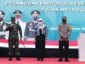 Launching Tim Pemburu Covid-19 yang diinisiasi Polda Metro Jaya - foto: Bob/Koranjuri.com