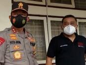 Ketua Komisi Pemiluhan Umum (KPU) Provinsi Bali Dewa Agung Gede Lidartawan bersama Kapolda Bali Irjen Pol I Putu Jayan Danu Putra - foto: Istimewa