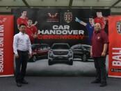 Kerjasama Wuling Motors dengan pihak Bali United (kanan) - foto: Koranjuri.com