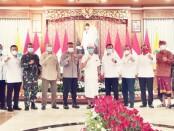 Silaturahmi Badan Nasional Penanggulangan Terorisme (BNPT) RI dan Forum Komunikasi Pimpinan Daerah (Forkopimda) Provinsi Bali, di Denpasar, pada Senin, 14 Desember 2020 - foto: Istimewa