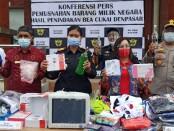 Kanwil Direktorat Jenderal Bea Cukai (DJBC) Bali, NTB dan NTT melalukan pemusnahan barang ilegal hasil operasi pasar sepanjang 2019-2020 - foto: Istimewa