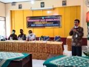 Workshop dan Sosialisasi Akreditasi dan Penjaminan Mutu Pendidikan di SMP N 4 Purworejo - foto: Sujono/Koranjuri.com