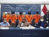 Subdit 4 Jatantras Polda Metro Jaya meringkus kawanan perampok swalayan - foto: Bob/Koranjuri.com