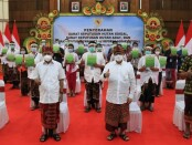 Surat Keputusan (SK) atau izin pengelolaan hutan tersebut secara simbolis diserahkan Presiden RI Joko Widodo kepada penerima di Bali dan 29 provinsi lainnya pada acara yang berlangsung secara virtual, Kamis (7/1/2021) - foto: Istimewa