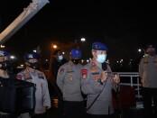 Briefing sebelum proses pencarian pesawat Sriwijaya Air SJ182 yang jatuh di sekitar Pulau Laki, Sabtu (9/1/2021) siang  - foto: Istimewa