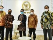 Dewan Perwakilan Rakyat (DPR) RI Puan Maharani menerima Surat Presiden tentang nama calon Kepala Kepolisian Republik Indonesia - foto: Istimewa