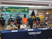 Subdit III Sumdaling Diektorat Reskrimsus Polda Metro Jaya mengungkap praktik kejahatan perdagangan satwa dilindungi - foto: Bob/Koranjuri.com