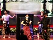 General repetisi pembukaan Bulan Bahasa Bali tahun 2021 - foto: Istimewa
