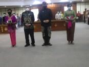 Wakil Gubernur Bali Tjokorda Oka Artha Ardhana Sukawati yang menghadiri acara penyerahan dana kompensasi kepada penyintas terorisme Bom Bali I dan II di Wiswa Sabha Utama, Kamis, 4 Februari 2021 - foto: Istimewa