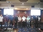 Organisasi Serikat Media Siber Indonesia (SMSI) Provinsi Bali bekerjasama dengan Humas dan Protokol Pemkot Denpasar mengadakan pelatihan jurnalistik, Senin, 22 Februari 2021 - foto: Koranjuri.com
