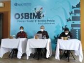 Obrolan Santai BI Bareng Media (Osbim) yang digelar Kantor Perwakilan wilayah Bank Indonesia (KPwBI) Provinsi Bali, Selasa, 23 Februari 2021 - foto: Koranjuri.com