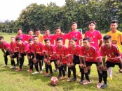Tim sepakbola Sohibul Menara SMPN 34 Purworejo - foto: Sujono/Koranjuri.com