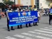 Pemberlakuan tilang secara elektronik di wilayah hukum Polres Metro Bekasi - foto: Bob/Koranjuri.com