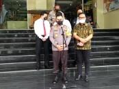 Polda Metro Jaya menggelar rapat koordinasi (Rakor) dengan Kementerian Agraria dan Tata Ruang atau Badan Pertanahan Nasional (ATR/BPN) Dirjen Penanganan Sengketa dan Konflik Tanah Raden Bagus Agus Widjayanto - foto: Istimewa