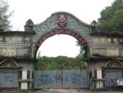 Gerbang utama di Taman Sriwedari, Solo - foto: Istimewa