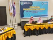 LLDIKTI Wilayah VI Jateng, saat mengadakan Pendampingan Pengusulan Jabatan Fungsional Bagi Dosen (JAFA) Perguruan Tinggi Swasta (PTS), di AKPER Pemkab Purworejo, Kamis (25/03/2021) - foto: Sujono/Koranjuri.com