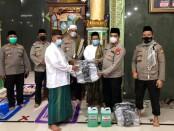 Peluncuran program 'Satu Jam Mengaji Kitab Kuning bersama Polisi' di Mesjid Assallam Cipayung - foto: Bob/Koranjuri.com