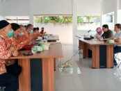 DPD PPNI Kabupaten Purworejo bersama Gerakan Nasional Perawat Honorer Indonesia (GNPHI), saat melakukan audiensi ke Ketua DPRD Kabupaten Purworejo, Jum'at (26/03/2021) - foto: Sujono/Koranjuri.com