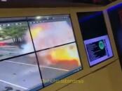 Rekaman CCTV detik-detik ledakan bom di di Gereja Katedral Makasar, Minggu, 28 Maret 2021 - foto: Istimewa