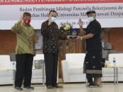 Aktualisasi Nilai-Nilai Pancasila di Lingkungan Pendidikan, Fakultas Hukum Unmas Denpasar gelar Webinar Nasional - foto: Istimewa