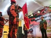 Pelantikan ketua dan pengurus PAC Ormas Pemuda Pancasila Kecamatan Kutoarjo, Sabtu (10/04/2021) - foto: Sujono/Koranjuri.com