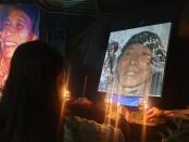 Malam Doa Untuk Umbu Landu Paranggi digelar untuk mengenang tokoh sastra nasional serta memperingati perjalanan hidupnya. Acara dilakukan di Jatijagat Kampung Puisi Jalan Cok Agung Tresna No. 109 Denpasar, Bali, Sabtu (10/4/2021) - foto: Istimewa