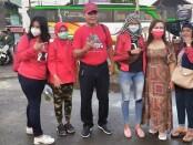Wakil Walikota Surakarta Teguh Prakosa bersama peserta Dolan Bareng dari Pengurus Ranting dan Anak Ranting serta Satgas Kelurahan Pajang, Minggu, 11 April 2021 - foto: Koranjuri.com