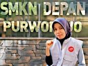 Setyo Ernawati, SPd, guru PPKn SMKN 8 Purworejo, satu-satunya guru di Purworejo yang memiliki Sertifikasi Penyuluh Anti Korupsi dari LSP KPK - foto: Sujono/Koranjuri.com