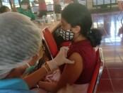 Pelaksanaan vaksinasi Covid-19 di Bali - foto: Istimewa