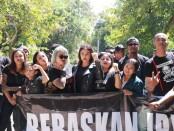 Nora Alexandra istri musisi Jerinx ikut terlibat dalam video klip 'Bali Bersama JRX' - foto: Istimewa