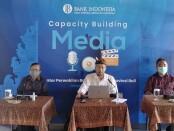 Capacity Building Media yang diselenggarakan oleh Kantor Perwakilan wilayah Bank Indonesia (KPwBI) Provinsi Bali, Kamis, 20 Mei 2021 - foto: Koranjuri.com