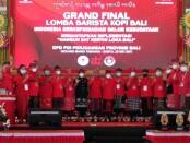 Grand final Barista Kopi Bali dalam rangka memperingati Hari Ulang Tahun (HUT) PDI Perjuangan yang ke-48 di Gedung Mario, Tabanan, Sabtu, 22 Mei 2021 - foto: Koranjuri.com