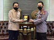 Kapolri Jenderal Polisi Listyo Sigit Prabowo menerima kunjungan Presiden Direktur (Presdir) PT Freeport Indonesia Tony Wenas beserta staf di Mabes Polri, Senin (24/5/2021) - foto: Istimewa