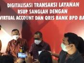 Peresmian penggunaan QRIS dan Virtual Account di RSUP Sanglah Denpasar diresmikan oleh Kantor Perwakilan Bank Indonesia Provinsi Bali bersama dengan BPD Bali, Selasa, 25 Mei 2021 - foto: Istimewa