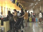 Bandara Ngurah Rai Bali menutup Posko Terpadu Pengendalian Transportasi Udara, Selasa (25/5/2021) - foto: Istimewa