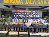 TNI Angkatan Laut (Lanal) Banten berhasil mengagalkan penyelundupan lebih dari 77 ribu ekor benur atau benih lobster yang akan diseberangkan ke Sumatera di Merak, Banten, Rabu (9/6/2021) - foto: Istimewa