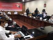 Rapat Pleno Pemantapan Persiapan Penyelenggaraan PKB XLIII Tahun 2021 di Gedung Jayasabha - foto: Istimewa