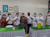 Program vaksinasi itu berlangsung pada 12, 14, dan 15 Juni 2021 di Pura Group Kawasan V, Jalan Raya Pati - Kudus, Kabupaten Kudus, Jawa Tengah - foto: Istimewa