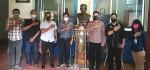 Pengurus PWI Bali Terima Kunjungan Silaturahmi Kapolsek Denpasar Utara