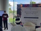 Gerakan 'Bali In Your Hands' dan TBF Consultant mengadakan perhelatan gaya hidup dan fesyen berkelanjutan di Maya Sanur - foto: Istimewa