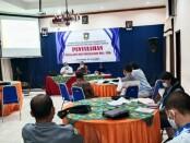 Kegiatan Penyuluhan Pencegahan PHI/PHK dari Dinperinaker Kabupaten Purworejo, Jum'at (25/06/2021), di aula Hotel Ganesha - foto: Sujono/Koranjuri.com