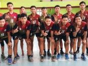 Tim Bola Voli putra SMKN 4 Purworejo, langganan juara Popda tingkat Kabupaten - foto: Sujono/Koranjuri.com